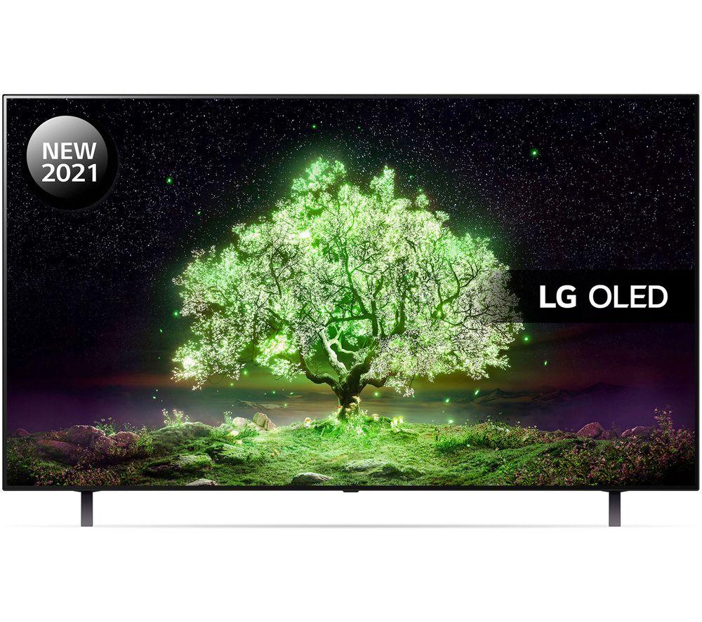 "LG OLED55A16LA 55"" Smart 4K Ultra HD HDR OLED TV with Google Assistant & Amazon Alexa"