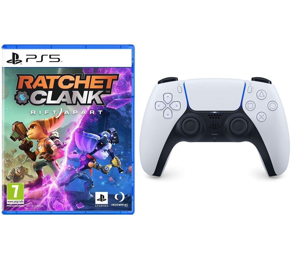 PLAYSTATIONRatchet & Clank: Rift Apart & PS5 DualSense Wireless Controller Bundle