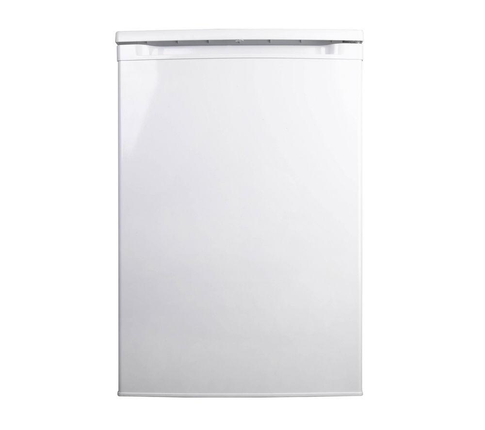 ESSENTIALS CUR55W12 Undercounter Fridge - White + Select DSX83410W Heat Pump Tumble Dryer - White