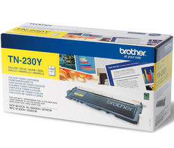 BROTHER TN230 Yellow Toner Cartridge