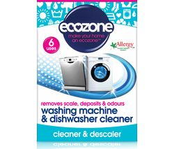 Washing Machine & Dishwasher Cleaner Tablets