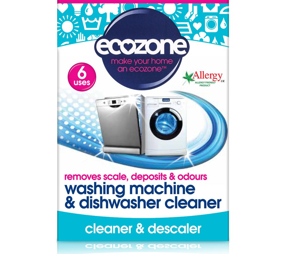 ECOZONE Washing Machine & Dishwasher Cleaner Tablets