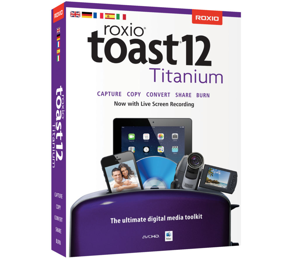 Roxio creator 2011 has a new version: get it now!