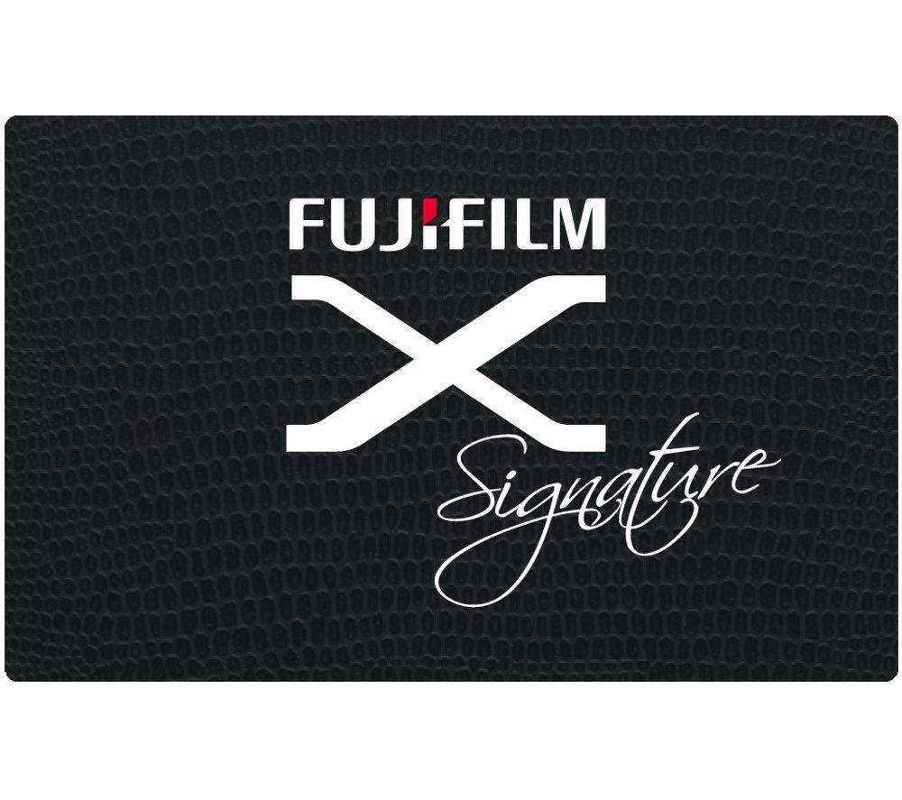 FUJIFILM X-Signature Personalisation Service Gift Card