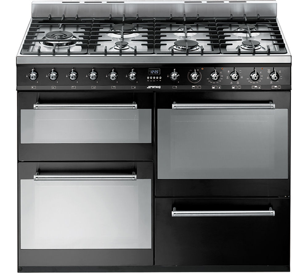 Compare prices for Smeg SYD4110BL 110cm Dual Fuel Range Cooker