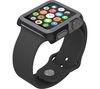 SPECK CandyShell Fit SPK-A4135 42 mm Apple Watch Case - Black & Slate Grey