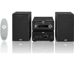 JVC UX-D750 Wireless Traditional Hi-Fi System - Black