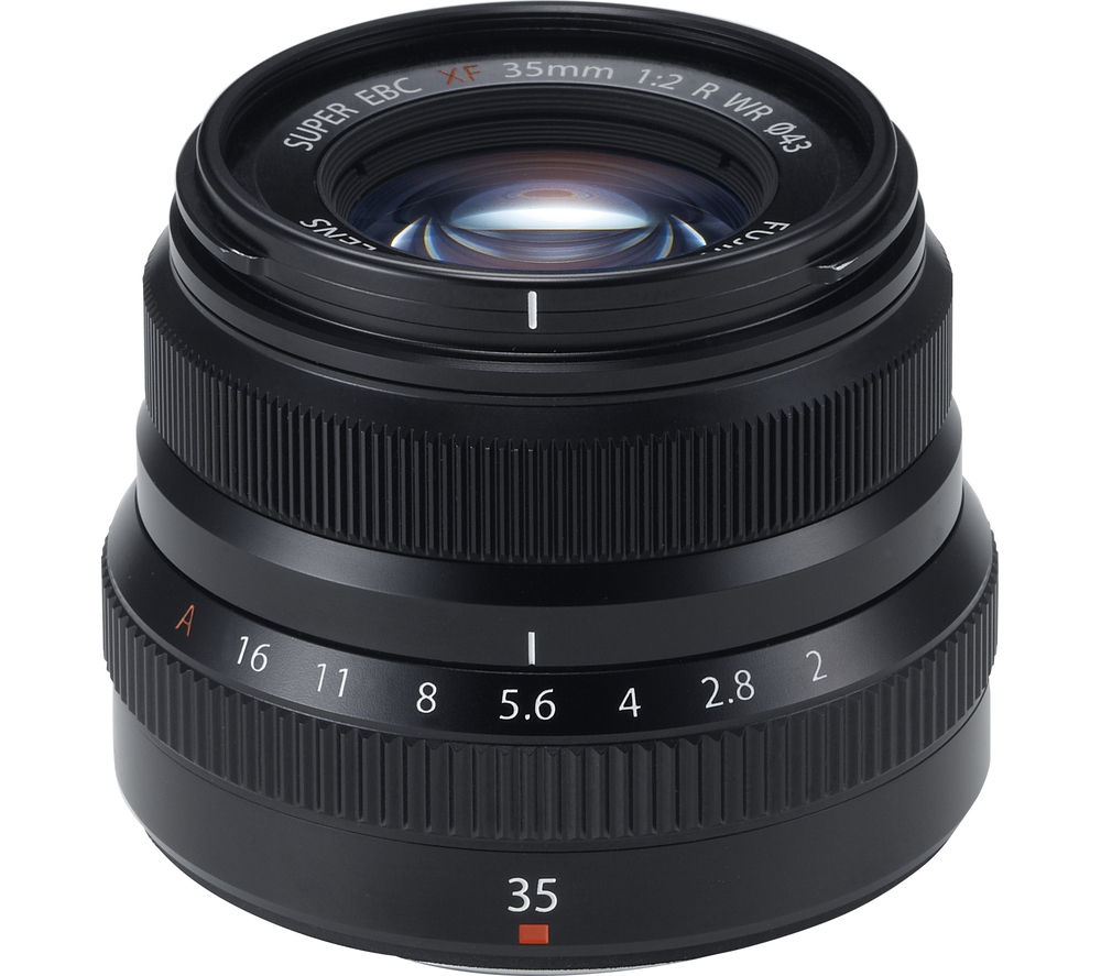 Compare retail prices of Fujifilm Fujinon XF 35 mm f/2.0 R WR Standard Prime Lens to get the best deal online