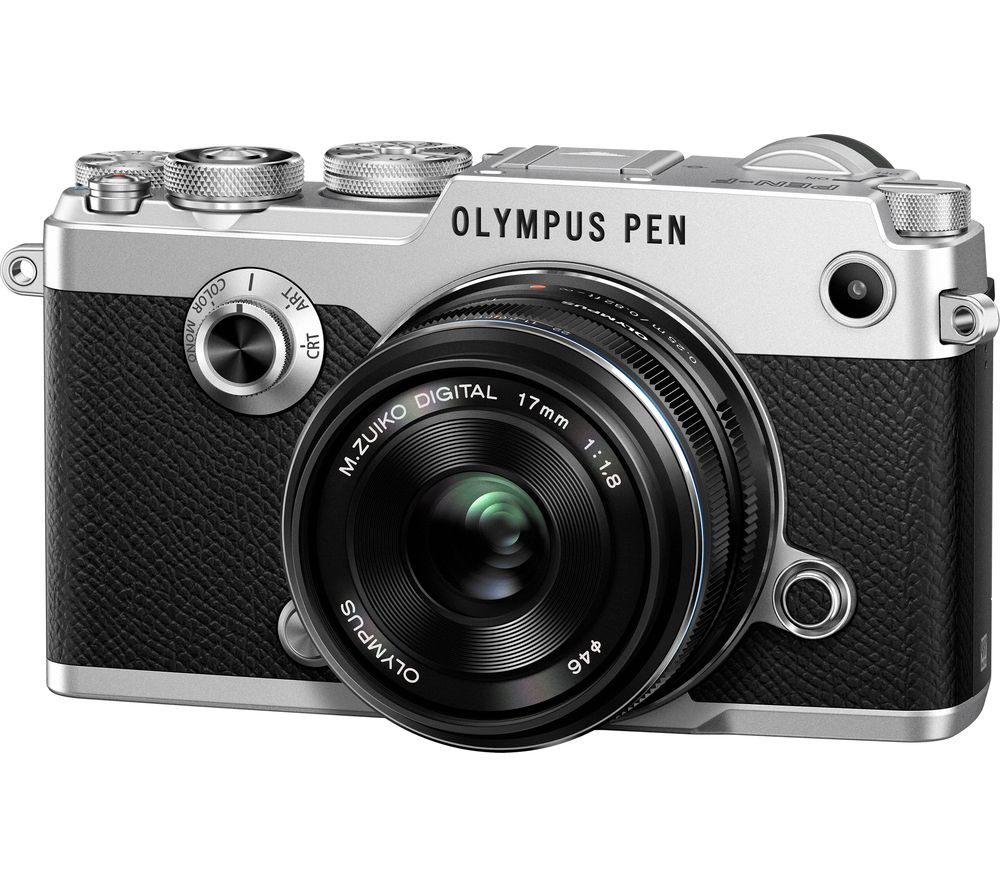 Compare prices for Olympus PEN-F Mirrorless Camera with 17 mm f/1.8 Lens