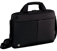 "WENGER Format 14"" Laptop Messenger Bag - Black"