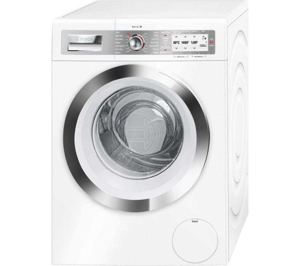 BOSCH Serie 8 WAYH8790GB Smart Washing Machine - White