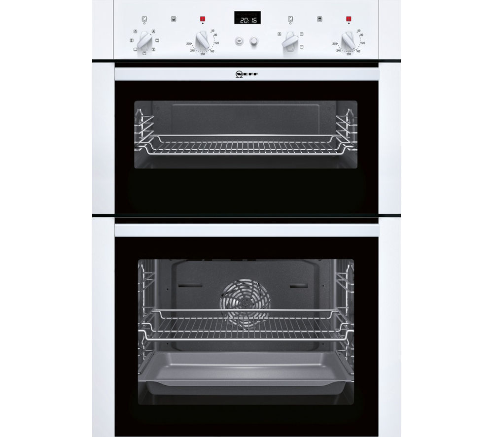 NEFF U14M42W5GB Electric Double Oven - White