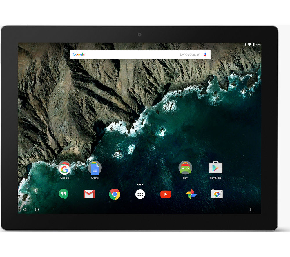 "GOOGLE Pixel C 10.2"" Tablet - 64 GB, Silver + LiveSafe Premium 2018 - 1 user / unlimited devices for 1 year"