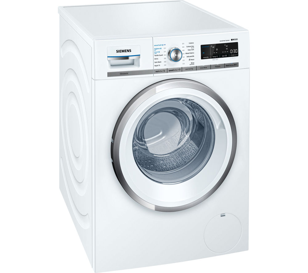 Buy Siemens Iq500 Wm14w750gb Washing Machine White Free Delivery