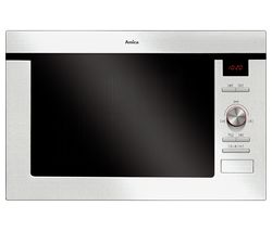 AMICA AMM25BI Built-in Microwave with Grill - Stainless Steel Best Price, Cheapest Prices