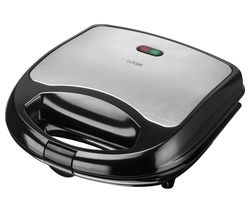 L02SMS17 Sandwich Toaster -  Black & Silver