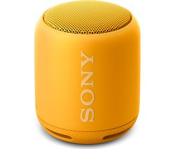 SONY SRS-XB10 Portable Bluetooth Wireless Speaker - Yellow