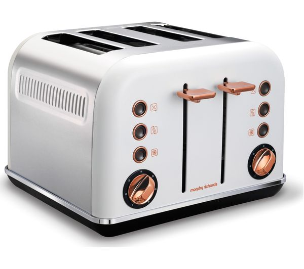 Buy Morphy Richards Accents 242106 4 Slice Toaster White