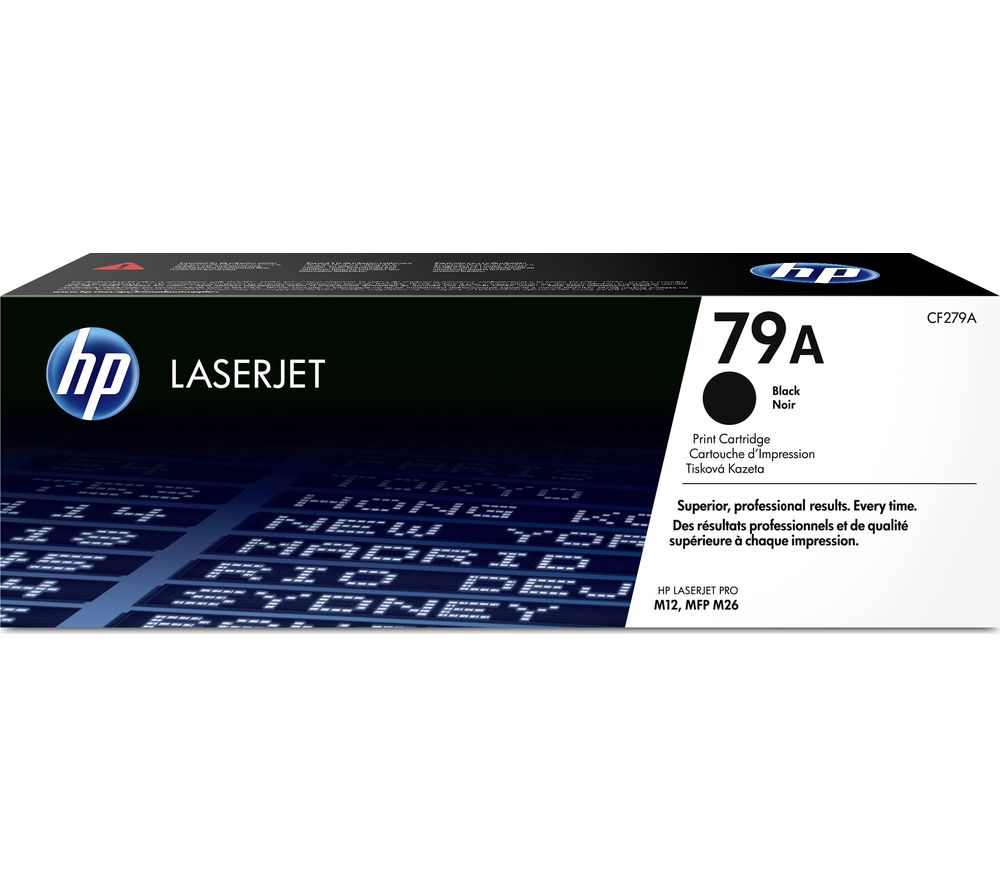 HP LaserJet 79A Black Toner Cartridge