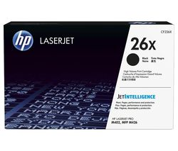 HP 26X High Yield Black Toner Cartridge
