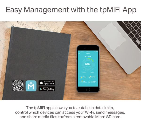 TP-LINK M7650 Mobile WiFi