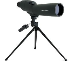 Upclose 52229-CGL 20-60 x 60 mm Spotting Scope - Black