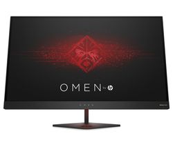 "HP OMEN Quad HD 27"" LED Gaming Monitor - Black"