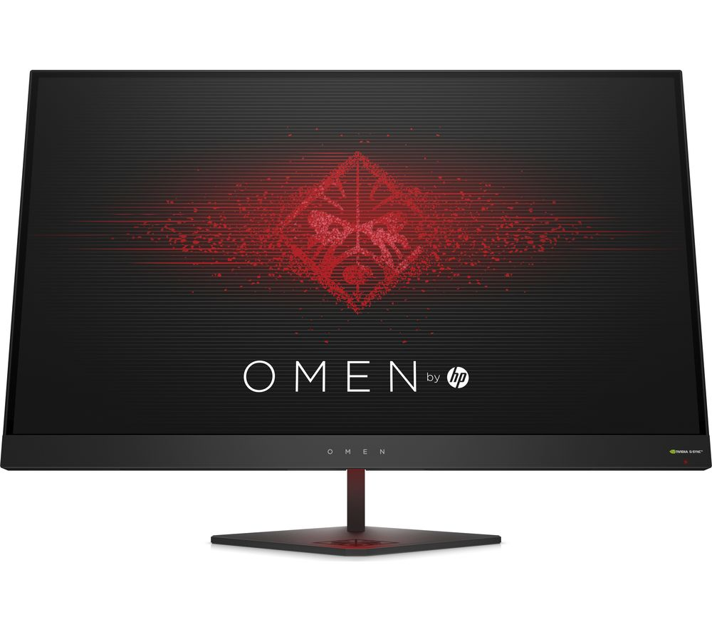 "HP OMEN Quad HD 27"" LED Gaming Monitor - Black"
