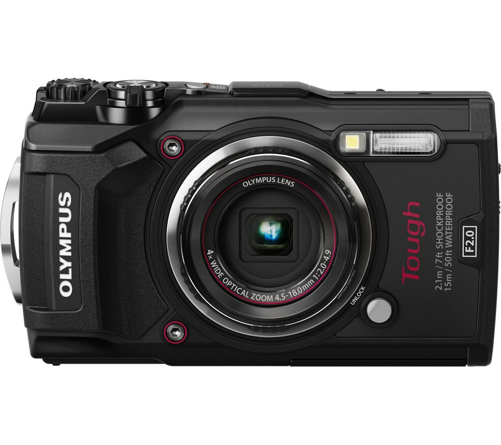 OLYMPUS TG-5 Tough Compact Camera - Black