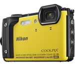 NIKON COOLPIX W300 Tough Compact Camera - Yellow