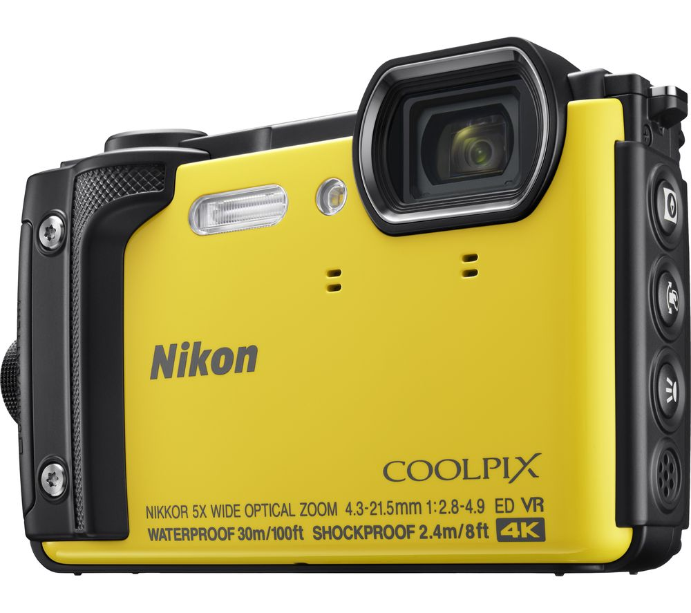Click to view product details and reviews for Nikon Coolpix W300 Tough Compact Camera Yellow Yellow.