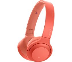 SONY h.ear Series WH-H800 Wireless Bluetooth Headphones - Red