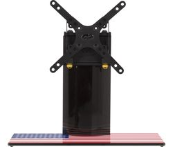 AVF B200US 450 mm TV Stand with Bracket - Stars & Stripes