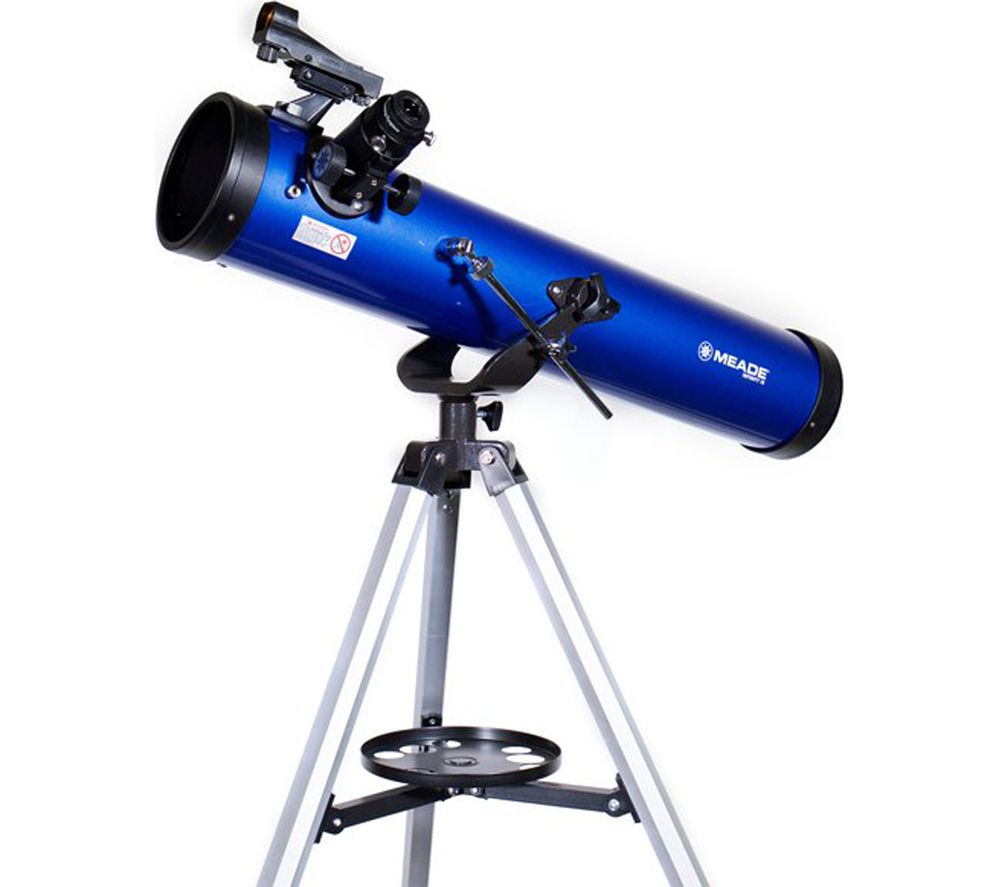 MEADE Infinity 76 Reflector Telescope - Blue