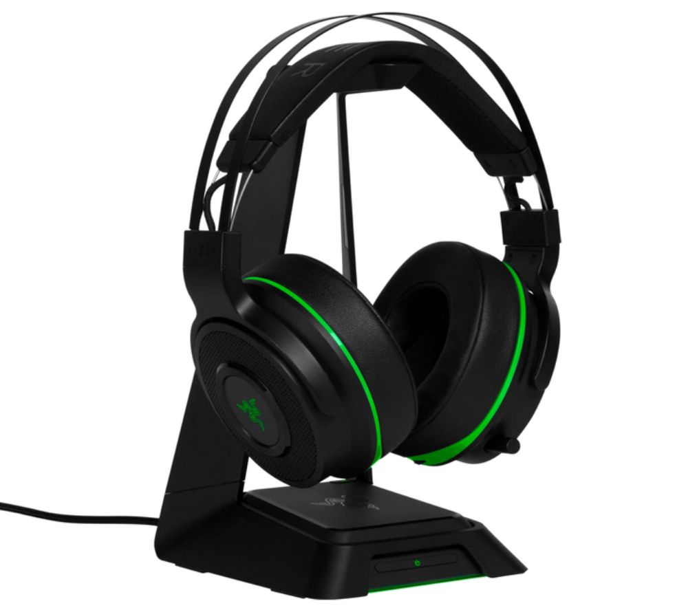 6f1c0ab8ebd Buy RAZER Thresher Ultimate Wireless 7.1 Gaming Headset - Black & Green |  Free Delivery | Currys