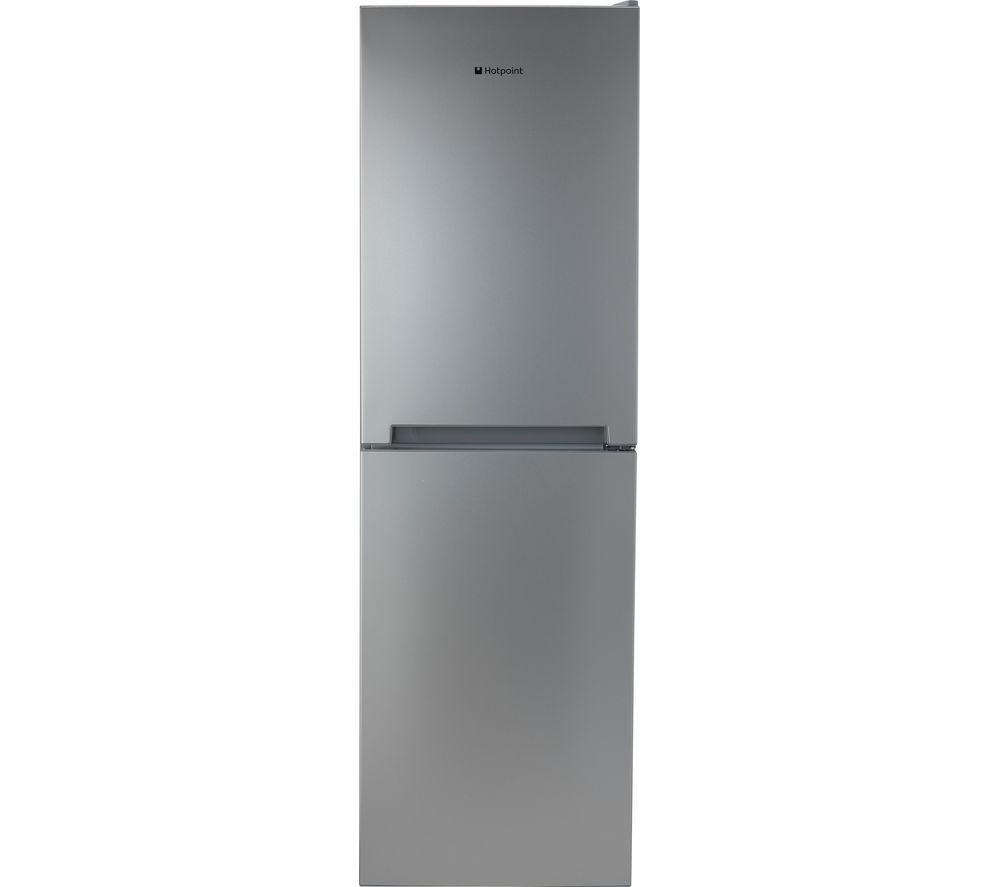 HOTPOINT TDC 85 T1I G 50/50 Fridge Freezer – Graphite, Graphite