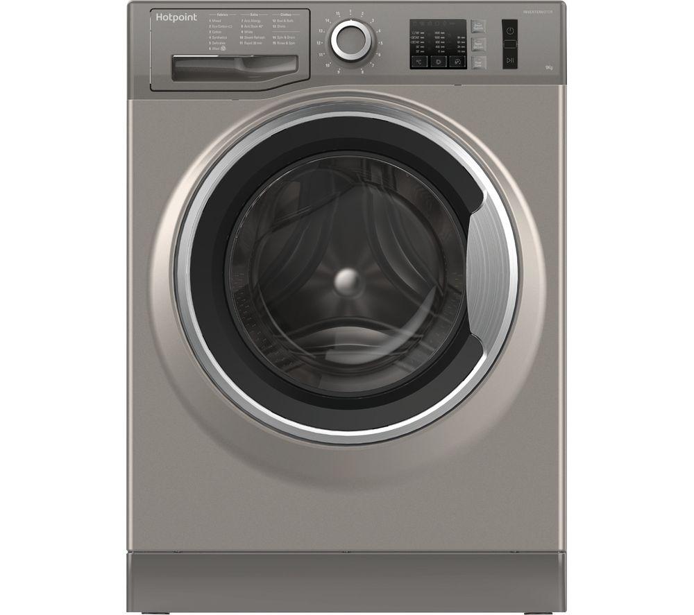 HOTPOINT NM10 944 GS UK 9 kg 1400 Spin Washing Machine - Graphite