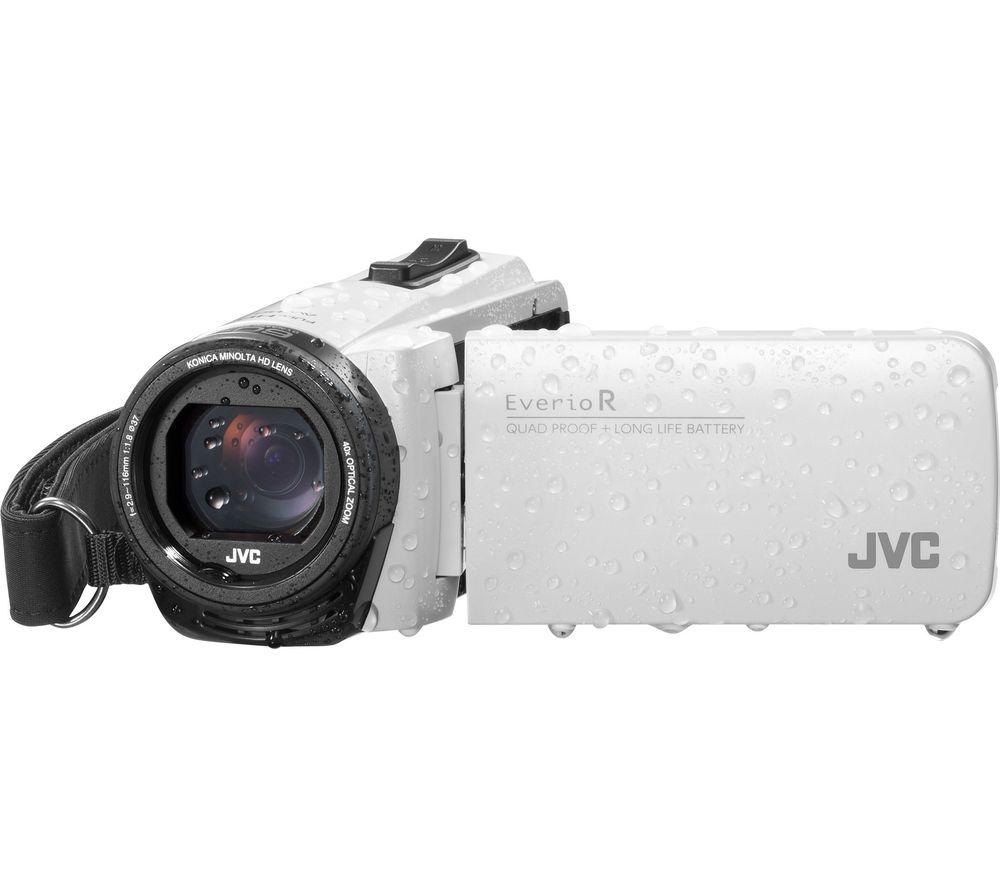JVC GZ-R495WEK Camcorder - White