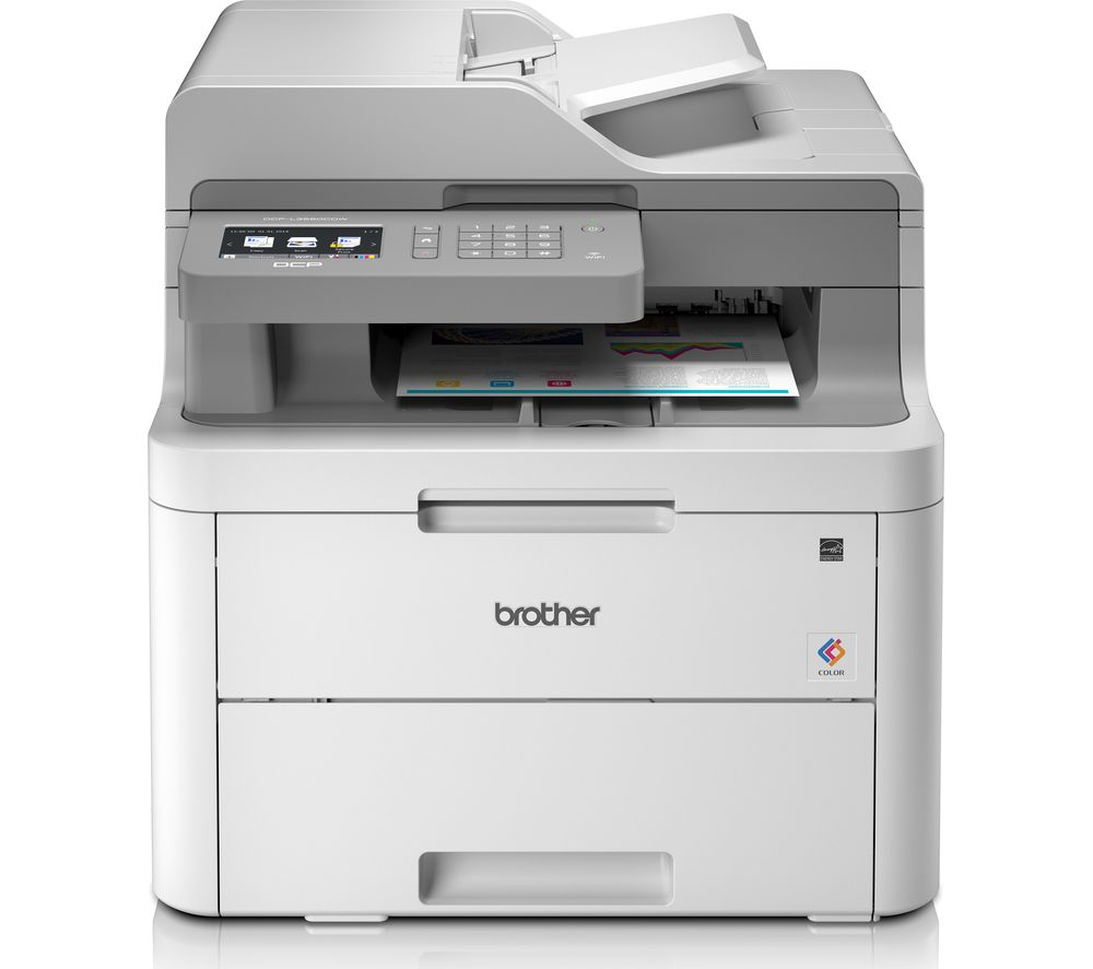 BROTHER DCPL3550CDW All-in-One Wireless Laser Colour Printer