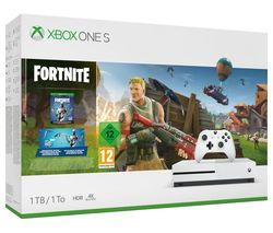 Xbox One S with Fortnite