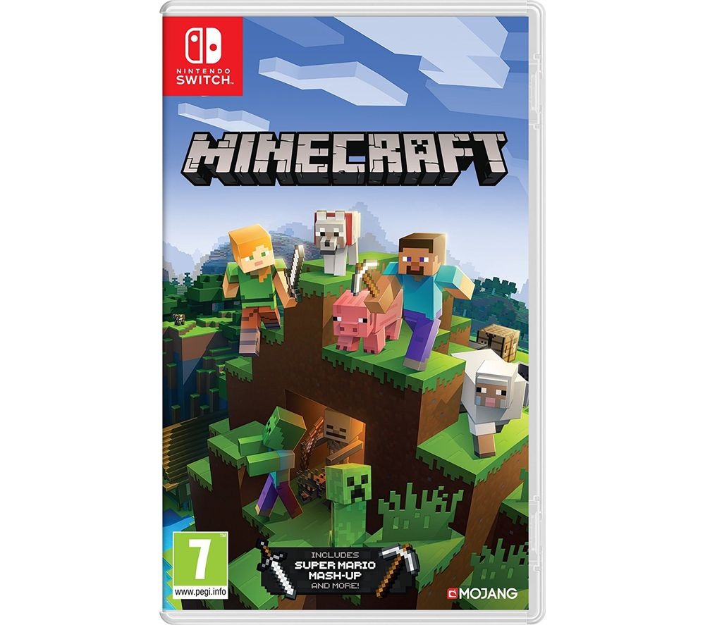 NINTENDO SWITCH Minecraft – Currys