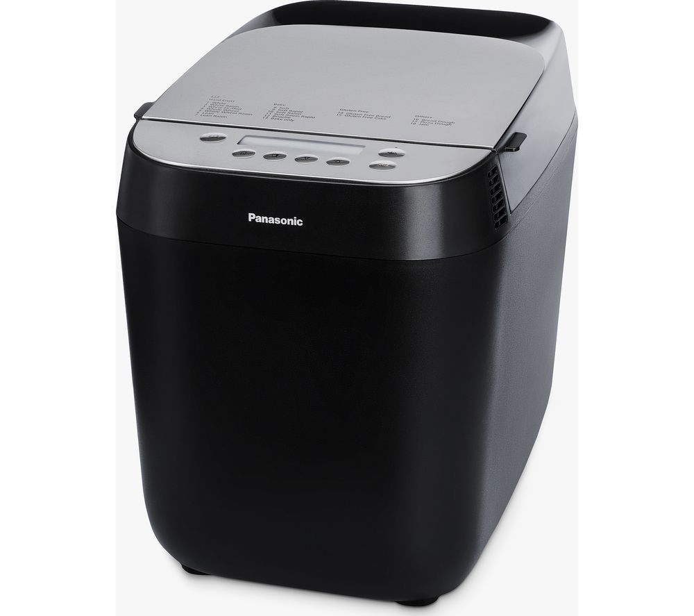 PANASONIC SD-ZP2000KXC Breadmaker – Black, Black