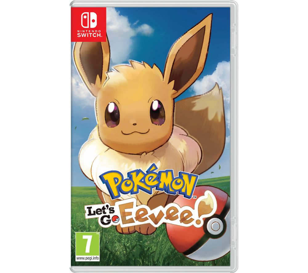 NINTENDO SWITCH Pokémon: Let's Go, Eevee!
