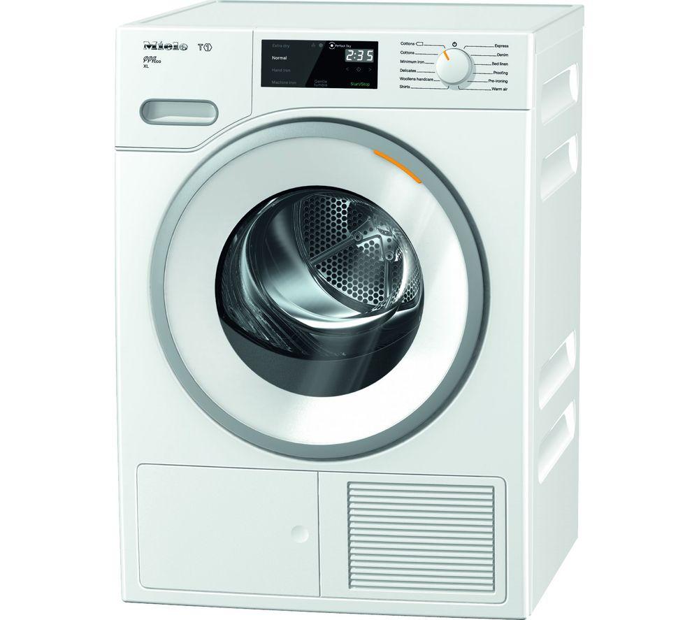 MIELE T1 TWH620 WP 9 kg Heat Pump Tumble Dryer - White