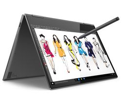 "LENOVO Yoga 730 13.3"" Intel® Core™ i5 2 in 1 Laptop - 256 GB SSD, Grey"