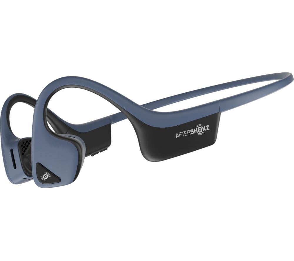 Image of AFTERSHOKZ Trekz Air Wireless Bluetooth Headphones - Blue, Blue