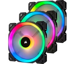 LL Series 120 mm Case Fan - Triple Pack, RGB LED