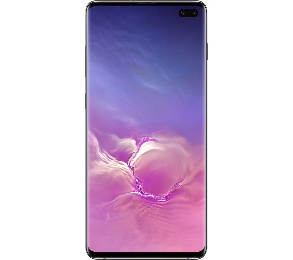 SAMSUNG Galaxy S10+ SIM Free - 512 GB, Ceramic Black