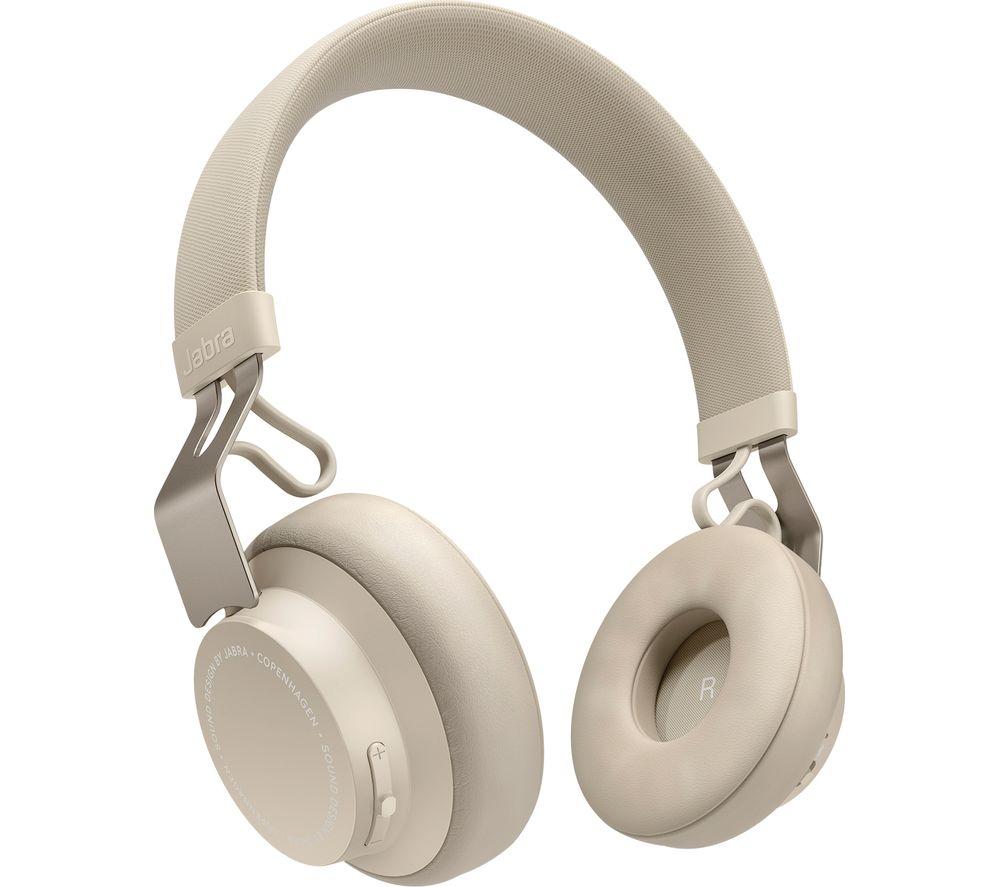 JABRA Move Style Wireless Bluetooth Headphones - Gold Beige