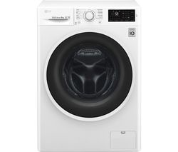 LG F4J609WN NFC 9 kg 1400 Spin Washing Machine - White